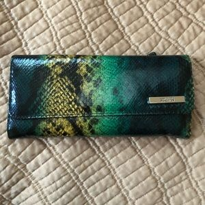 Kenneth Cole snakeskin wallet